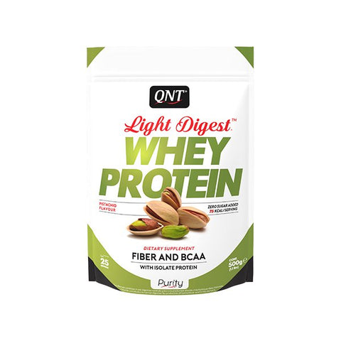 QNT Light Digest Whey Protein Pistaasi