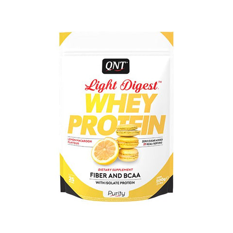 QNT Light Digest Whey Protein Sitruunamacaron
