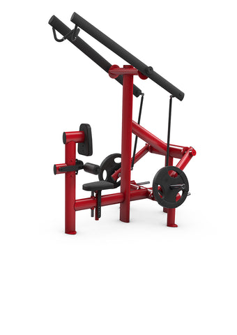 Gym80 Plate Loaded Lat Pull 50mm NEW Version