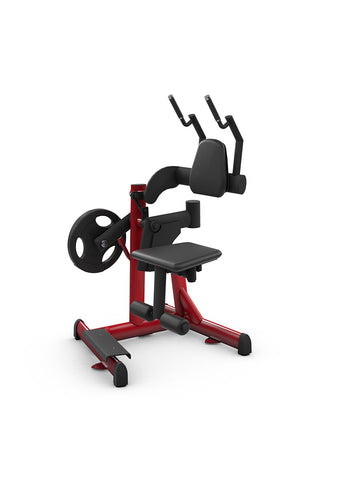 Gym80 Plate Loaded Rotating Crunch, Pure Kraft