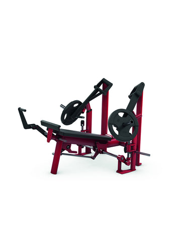 Gym80 Decline Press Bench DUAL NEW