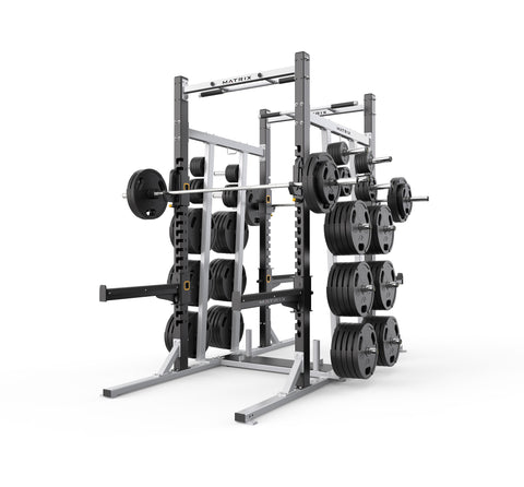 "MAGNUM Double Half  Rack 8""Tall"