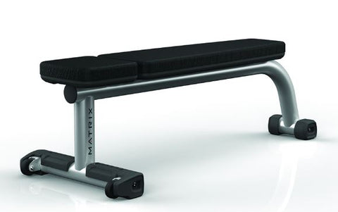 Matrix Magnum MG Pro Flat Bench w/Wheels