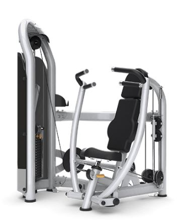 Matrix Aura Converging Chest Press Silver