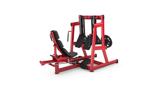 Gym80 Plate Seated Leg Press Dual, Pure Kraft