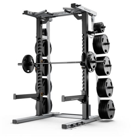 Matrix Magnum Mega Half Rack Black