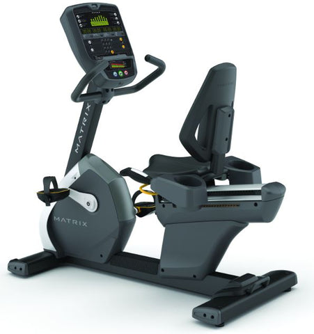Matrix R3x Recumbent Cycle Matt Black