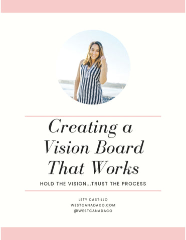 creating a vision board that works free pdf