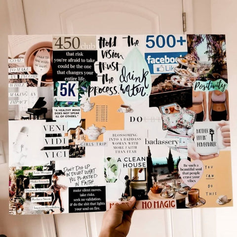 how to make a vision board guide pdf free