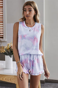 Tie Dye Dreams Shorts Lounge Set