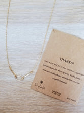 Load image into Gallery viewer, Thank You Necklace with message card