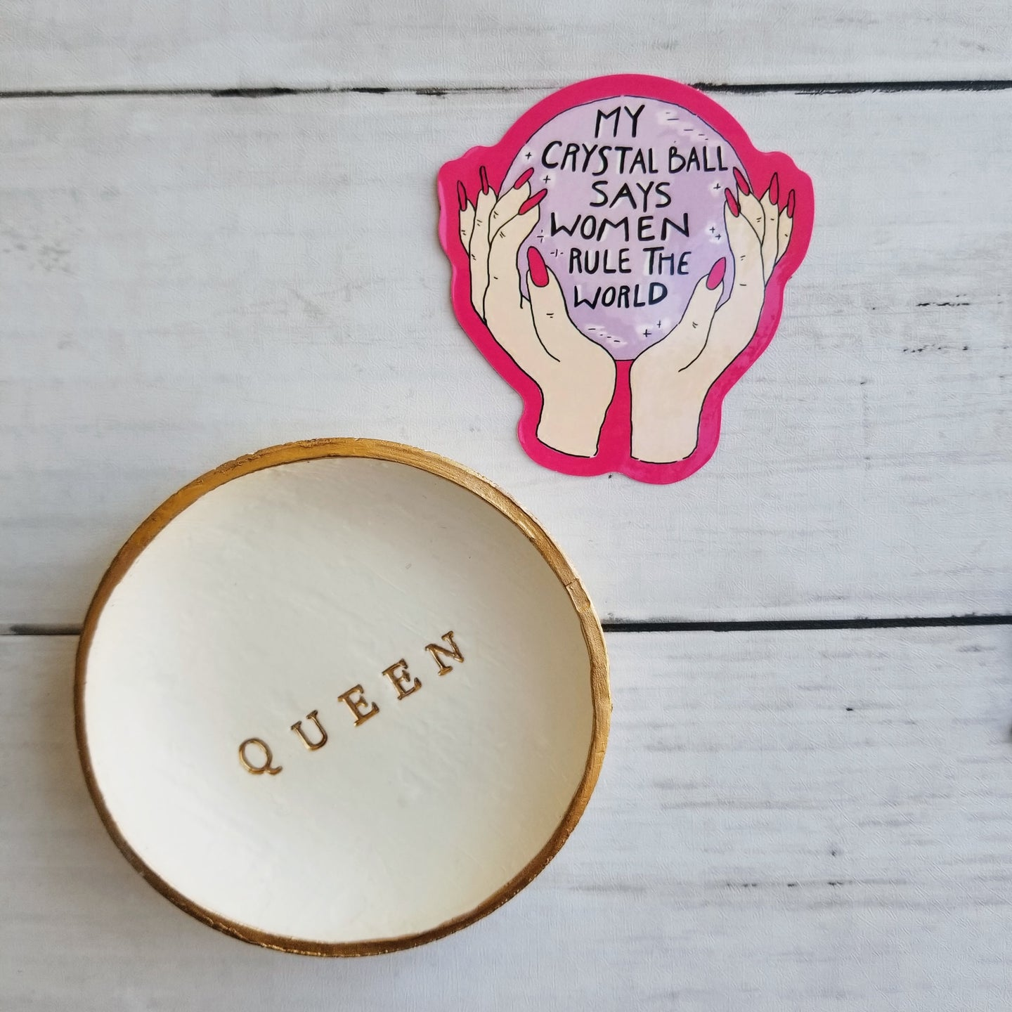 Queen Ring Dish