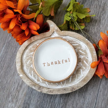 Load image into Gallery viewer, Thankful Handmade Ring Dish