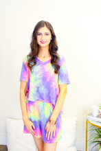 Load image into Gallery viewer, Casual Tie Dye Lounge Wear Short Set