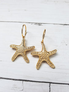 Linda Starfish Drop Earrings - West Canada Co