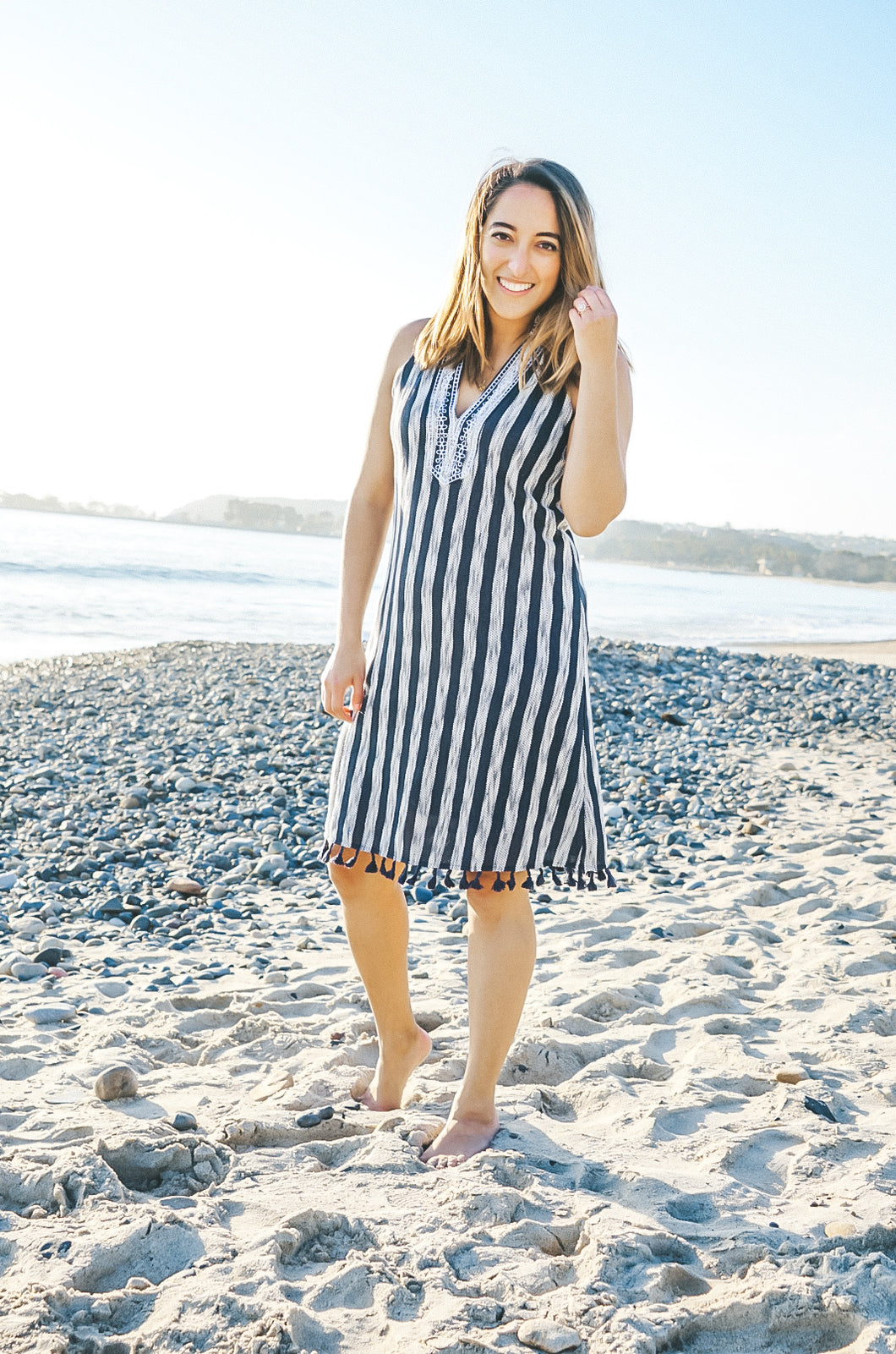 Vacay Mode Embroidered Dress