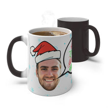 Load image into Gallery viewer, Personalized Face Color Changing Magic Mug