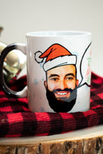 Load image into Gallery viewer, face mug custom christmas