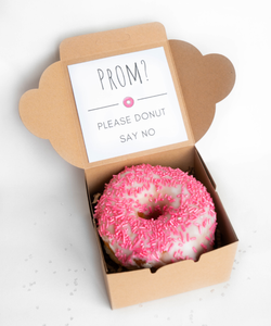 Promposal Donut Box