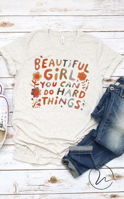 Watercolor Beautiful Girl Tee