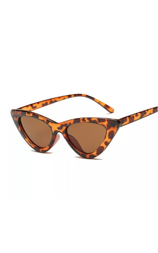 Spotted Retro Cat Eye Sunglasses
