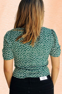 Brielle Floral Button Down Top