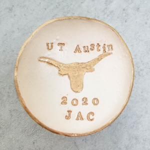 Custom Graduation Gift Ring Dish