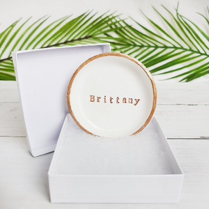 Custom Name Ring Dishes