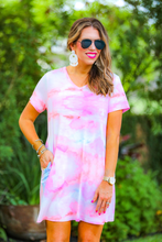 Load image into Gallery viewer, Tie Dye Pocket Dress