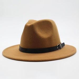 Brown Balboa Felt Hat - West Canada Co