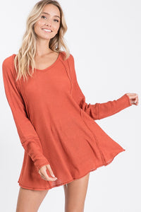 Fall Knit Swing Top
