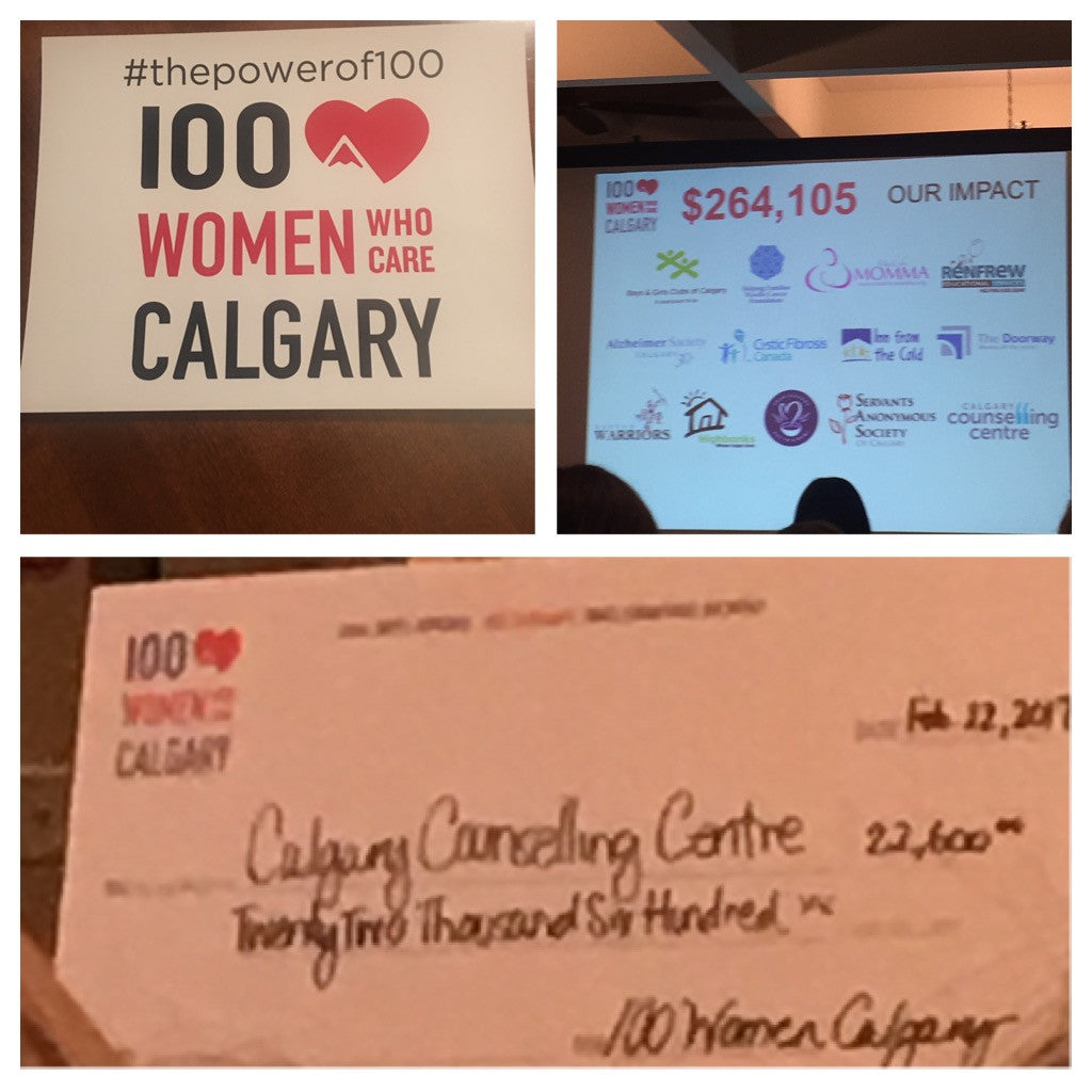 100 Woman Who Care in Calgary