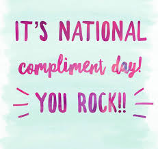 Tomorrow is National Compliment Day