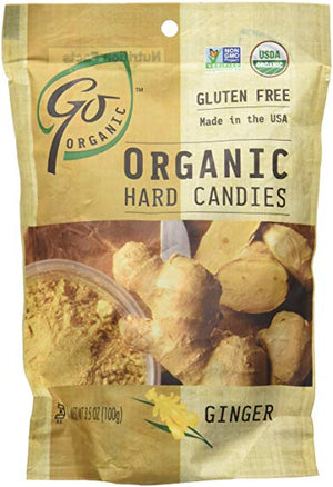 Go Organic Ginger Candies