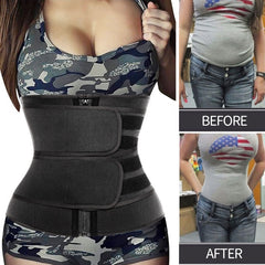 Steel Bones Belt Body Shaper