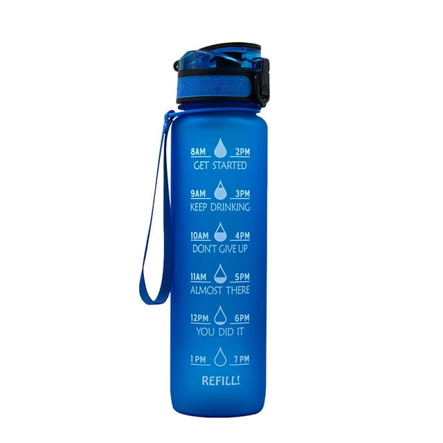 1LWater Bottle With Time Scale Reminder