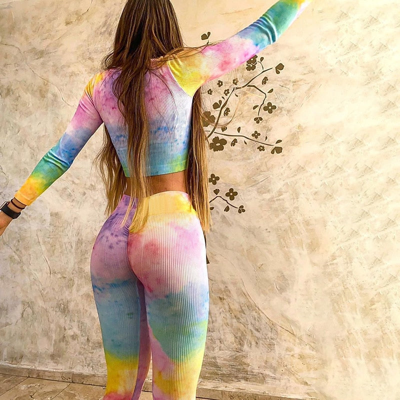 Rainbow Yoga Set