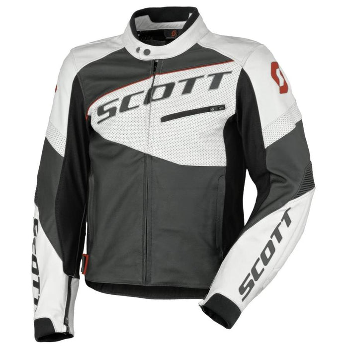 Scott Track Leather Jacket