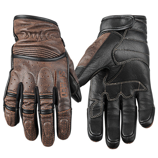 Rust And Redemption Leather Glove