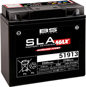 SLA12-19-BS (UPGRADE 51913/51814) BS BATTERY