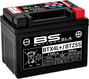 Bs Battery BTX4L+ BTZ5S SLA