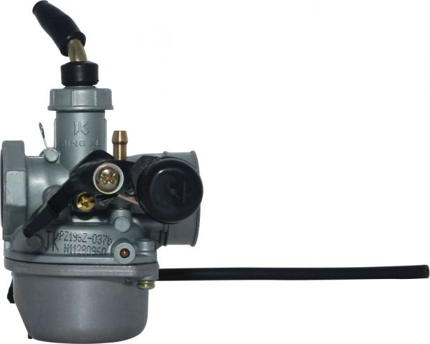 Mini ATV Carburetor - 19mm, Manual Choke, Left Hand Choke