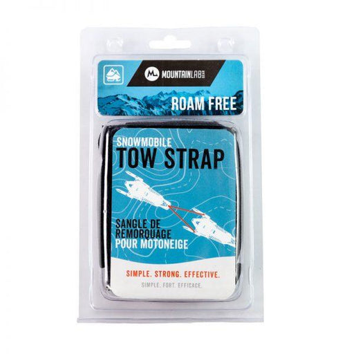 Mountain Lab Snowmobile Tow Strap
