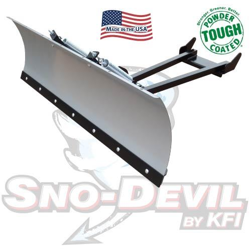 "KFI Products KFI Sno-Devil Universal 48 "" ATV Plow System"