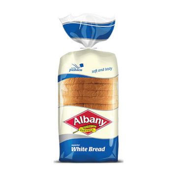 Albany White Bread 700g