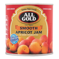 All Gold Apricot Jam Smooth 900g