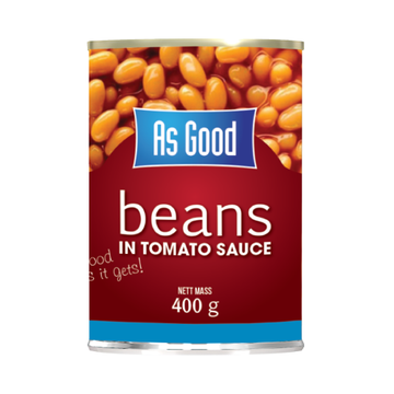 As Good Baked Beans 400g x4