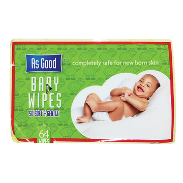 As Good Baby Wipes 64's