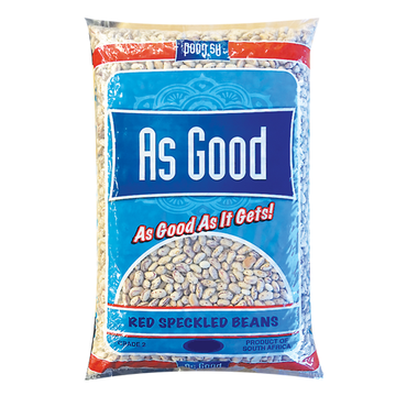 As Good Red Speckled Beans 4kg