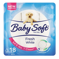 Baby Soft Toilet Tissues 18's